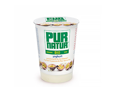Pur Natur Passionfruit & elderflower yogurt 500g