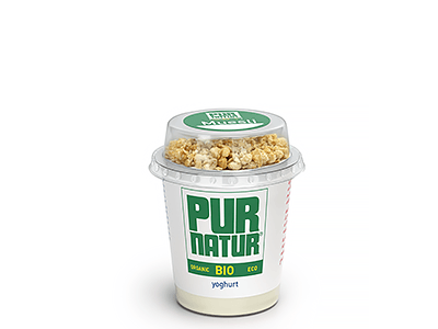 Natural organic yogurt with muesli 160g from Pur Natur